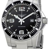 Longines HydroConquest Steel 41mm Black