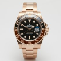 Rolex GMT-Master II новые 2021 Автоподзавод Часы с оригинальными документами и коробкой 126715CHNR