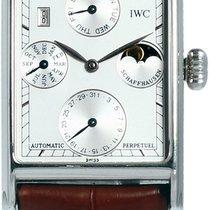 IWC Novecento Steel White