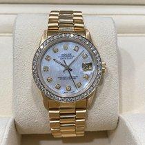 Rolex Lady-Datejust 68278 Очень хорошее Желтое золото 31mm Автоподзавод