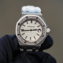 Audemars Piguet Royal Oak Offshore Lady Steel 37mm Silver No numerals United States of America, Texas, Laredo