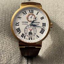 Ulysse Nardin Marine Chronometer 43mm Rose gold 43mm White