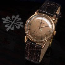 Patek Philippe Rose gold Manual winding Pink Arabic numerals 35mm pre-owned Calatrava