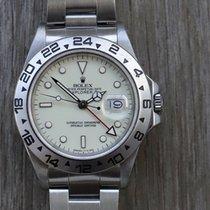 Rolex Explorer II Steel 40mm White No numerals Australia