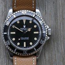 Rolex Submariner (No Date) Steel 40mm Black No numerals Australia