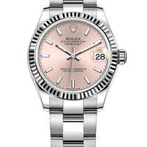 Rolex Lady-Datejust Aur/Otel 31mm Roz Fara cifre