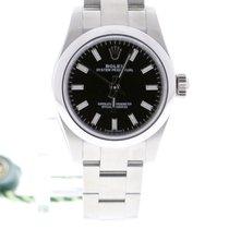 Rolex Oyster Perpetual 26 Acier 26mm Noir Sans chiffres