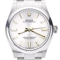 Rolex Oyster Perpetual 31 Acier 31mm Argent Sans chiffres