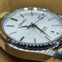 Seiko Titanium Automatic Silver No numerals 40mm pre-owned Presage