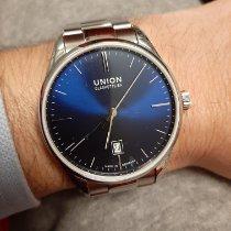 Union Glashütte Viro Date Steel 41mm Blue