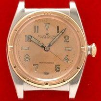 롤렉스 버블 백 금/스틸 32mm 핑크 아라비아 숫자