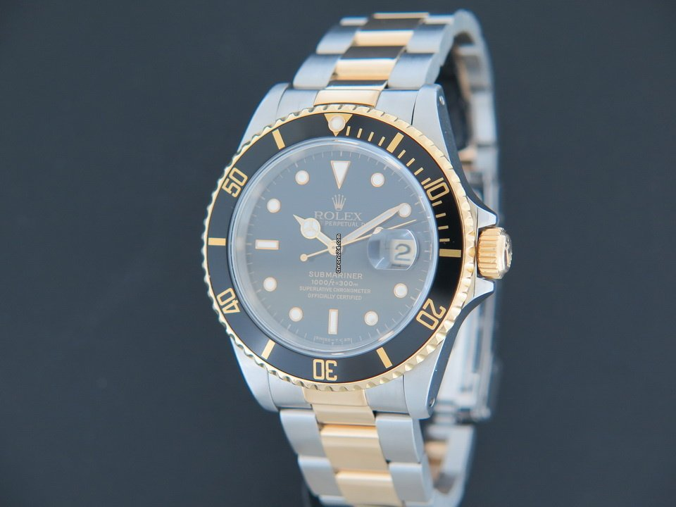 Rolex Submariner Date 16613 Sultan 1990 gebraucht