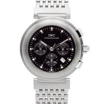 IWC Da Vinci Chronograph Stahl 37mm Schwarz Keine Ziffern Schweiz, Zug