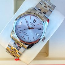 Tudor Glamour Date Steel 36mm Silver No numerals United States of America, California, Los Angeles
