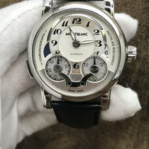 Montblanc Nicolas Rieussec Steel 43mm Arabic numerals United States of America, New York, New York