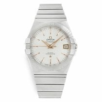 Omega Constellation Men new 2020 Automatic Watch with original papers 123.10.38.21.02.002