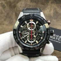 TAG Heuer Carrera Calibre HEUER 01 Steel 45mm United States of America, New York, New York