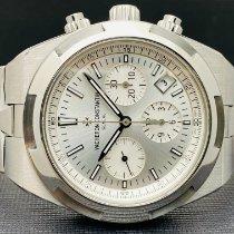 Vacheron Constantin Overseas Chronograph Steel 42.5mm Silver No numerals