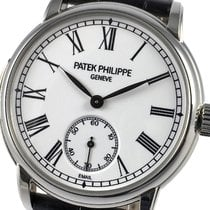 Patek Philippe Minute Repeater Platino 38mm Blanco Romanos