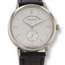 A. Lange & Söhne Saxonia White gold 35mm Silver United States of America, New Hampshire, Nashua