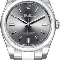 Rolex Oyster Perpetual 39 Steel 39mm Grey United States of America, California, Moorpark