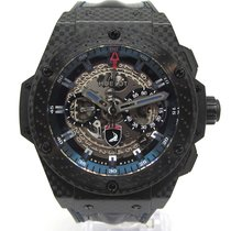 Hublot King Power Carbono 48mm Transparente España, Marbella