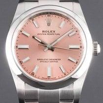 Rolex Oyster Perpetual 34 Stahl 34mm Pink Keine Ziffern Deutschland, Essen