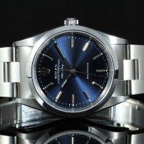 Rolex Air King Precision usados 34mm Azul Acero