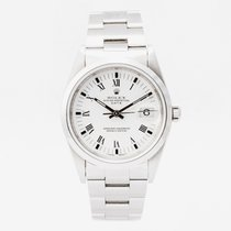 Rolex Oyster Perpetual Date Steel 34mm White No numerals United Kingdom, Guildford,Surrey