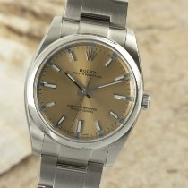 Rolex Oyster Perpetual 34 Steel 34mm Gold