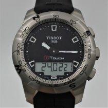 Tissot T-Touch II Stål 43mm Svart Ingen tall