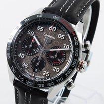 TAG Heuer Carrera Porsche Chronograph Special Edition Stahl 44mm Grau Arabisch Deutschland, Weißenhorn