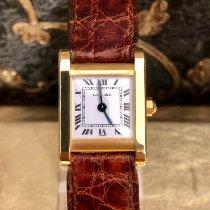 Cartier Tank Vermeil 590005 Very good Silver 23mm Quartz