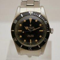 Rolex Submariner (No Date) Acciaio 37mm Nero Senza numeri Italia, Casale Monferrato