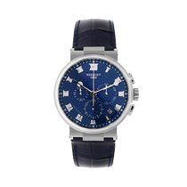 Breguet Marine White gold 42.3mm Blue Roman numerals United Kingdom, LE1 6DN