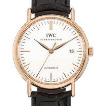 IWC Portofino Automatic Pозовое золото 39mm Белый