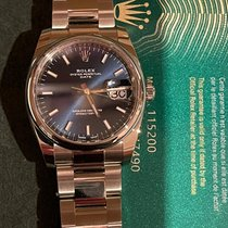 Rolex Oyster Perpetual Date Steel Blue