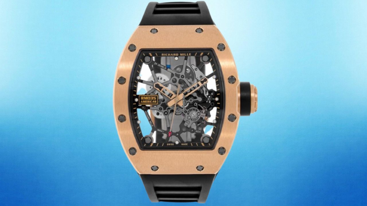 Richard Mille RM 035 RM035 2017 pre-owned