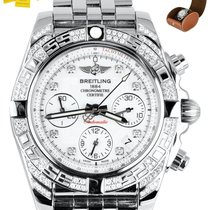 Breitling Chronomat 41 Steel 41mm Mother of pearl United States of America, New York, Smithtown