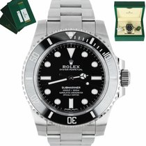 Rolex 114060 Steel Submariner (No Date) 40mm pre-owned