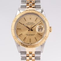 Rolex Datejust Turn-O-Graph Gold/Steel 36mm Champagne No numerals United States of America, Oklahoma, Oklahoma City
