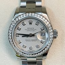Rolex Lady-Datejust Steel 26mm Silver No numerals Malaysia, KOTA KINABALU