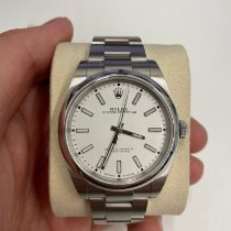 Rolex Oyster Perpetual 39 Steel 39mm White No numerals United Kingdom, London
