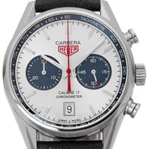 TAG Heuer Carrera Calibre 17 pre-owned 41mm Leather