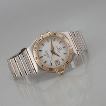 Omega Constellation Ladies Сталь 28mm Белый Без цифр