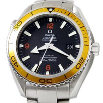 Omega Seamaster Planet Ocean Steel 45.5mm Black Arabic numerals United States of America, Utah, Draper