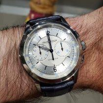 Jaeger-LeCoultre Master Chronograph Steel Silver United States of America, Massachusetts, Boston