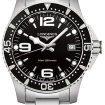 Longines HydroConquest Steel Black