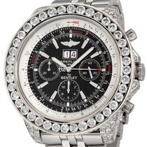 Breitling Bentley 6.75 Steel 48mm Black No numerals United States of America, New York, New York City