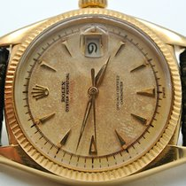 Rolex 6305 Yellow gold 1950 Datejust 36mm pre-owned